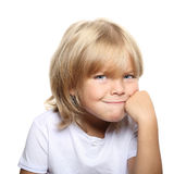 Ritratto sveglio del ragazzo Fotografie Stock Libere da Diritti