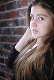 Ritratto sveglio della ragazza Fotografia Stock