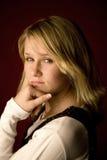 Ritratto teenager Fotografia Stock Libera da Diritti