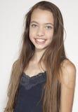 Ritratto teenager della ragazza Fotografia Stock Libera da Diritti
