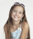 Ritratto teenager della ragazza Fotografie Stock Libere da Diritti