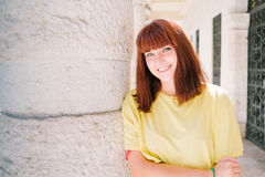 Ritratto teenager della ragazza Fotografia Stock