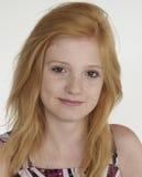 Ritratto teenager della testa di rosso Immagine Stock Libera da Diritti