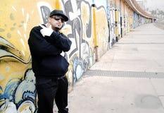 Ritratto urbano di Hip-hop Fotografie Stock Libere da Diritti