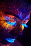 Ritratto UV Immagine Stock Libera da Diritti