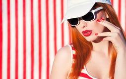Ritratto variopinto di estate fotografie stock libere da diritti