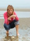 Ritrovamento della spiaggia Fotografia Stock