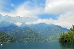 Ritsa lake Stock Image