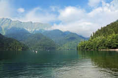 The Ritsa lake Stock Photo