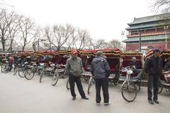 Ritschka Bike Drivers waiting for Passengers Stock Image