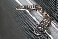Ritssluiting op de koffer Royalty-vrije Stock Foto's