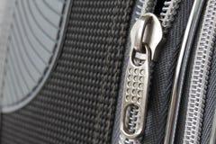 Ritssluitingen op een koffer Royalty-vrije Stock Foto's