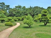 Ritsurin Garden in Takamatsu, Japan. Stock Photography
