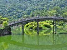 Ritsurin Garden in Takamatsu, Japan. Royalty Free Stock Photo