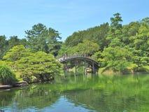 Ritsurin Garden in Takamatsu, Japan. Stock Image
