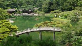Ritsurin Koen Garden Takamatsu Japan stock foto