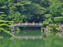 Ritsurin trädgård i Takamatsu, Japan Royaltyfria Foton