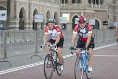 ritt för 2011 cirkulering cyklistmalaysia ocbc arkivfoton