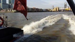 Ritt för bost för snabb färja för Themsen Royaltyfri Foto