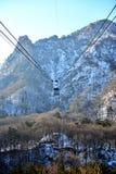 Ritt för kabelbil Royaltyfri Fotografi