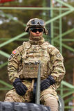 Ritt för USA armédragon Royaltyfri Fotografi