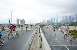 Ritt för hjärta i Toronto Arkivfoto