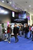 Rittal的立场在CEBIT计算机商展的 库存图片