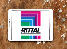 Rittal technology company logo. Logo of Rittal technology company on samsung tablet. Rittal is a German company. The company manufactures electrical enclosures royalty free stock images