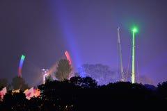 Ritten bij het Festival van het Eiland Wight Royalty-vrije Stock Afbeelding