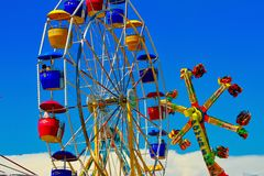 Ritten van Carnaval van de staat de Eerlijke royalty-vrije stock afbeelding