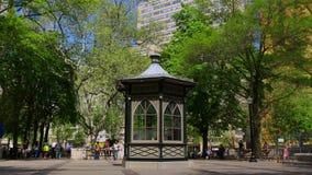 Rittenhouse kvadrerar den philadelphia för sommardagen staden 4k pennsylvania USA arkivfilmer