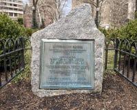 Rittenhouse Obciosuje, jeden Filadelfia ` s oryginału kwadraty i na Krajowym rejestrze Historyczni miejsca, zdjęcie royalty free