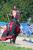 Ritter auf dem Pferd Stockbilder