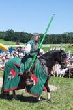 Ritter auf dem Pferd Lizenzfreie Stockbilder