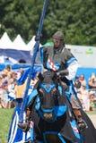 Ritter auf dem Pferd Lizenzfreies Stockfoto