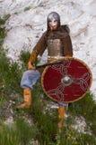 Ritter auf einem Felsen Lizenzfreie Stockfotos