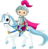 Ritter auf Pferd Lizenzfreie Stockfotos