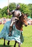 Ritter auf zu Pferde Lizenzfreies Stockbild