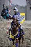 Ritter auf zu Pferde Stockfotos