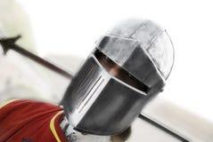 Ritter, der Kamera betrachtet Lizenzfreies Stockfoto