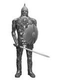 Ritter gebildet von den Reserven lizenzfreies stockfoto