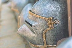 Ritter Helmet lizenzfreies stockbild