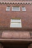 Ritter Library an der Universität von Oregon Stockfotos