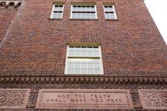 Ritter Library an der Universität von Oregon Stockfotografie