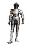 Ritter lokalisiert auf weißem Hintergrund Stockbilder