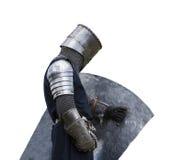 Ritter mit Schild Stockfotos