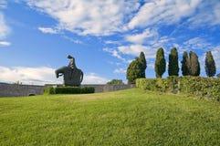 Ritter Str.-Francesco. Assisi. Umbrien. Stockfotos