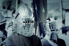 Ritter Templar Stockfotos