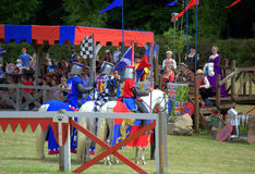 Ritter und König Henry VIII Stockfotografie