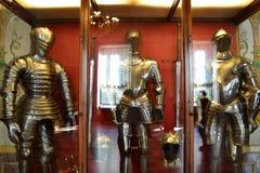 Ritterliche Kostüme Stockfotografie